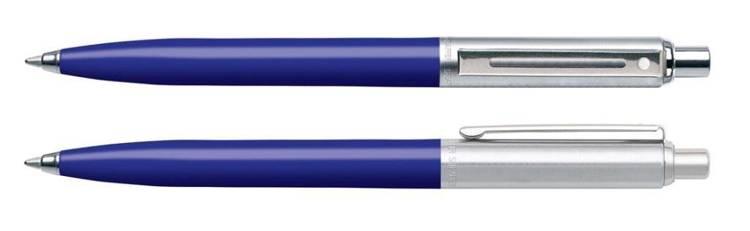 321 BP Długopis Sheaffer Sentinel niebieski (ultramaryna), wykończenia niklowane