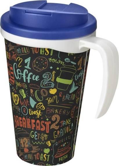 Brite-Americano Grande 350 ml mug with spill-proof lid